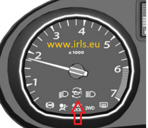 Oil Reset Service Light Indicator Dacia Duster Indicator